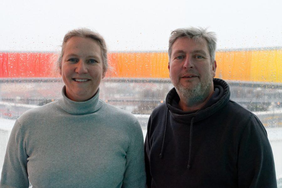 Claudia & Casper at Århus ARoS museum